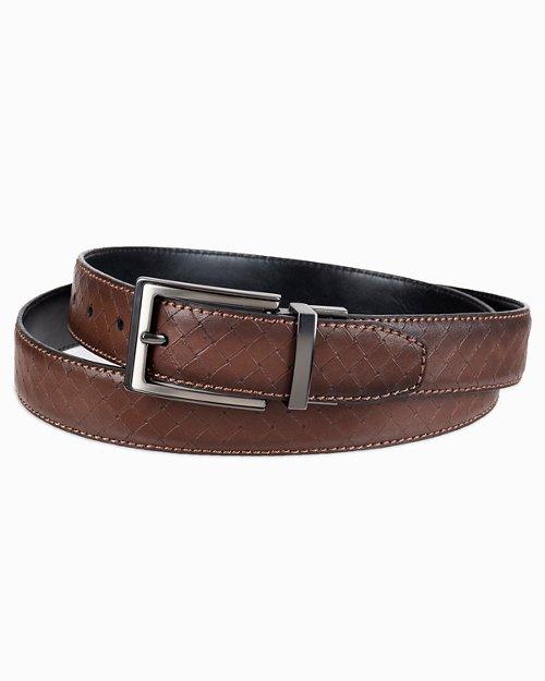 Basketweave Reversible Belt