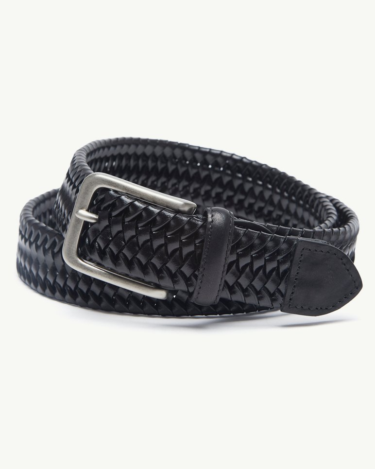 4494feb0 Main Image for Braided Leather Stretch Belt