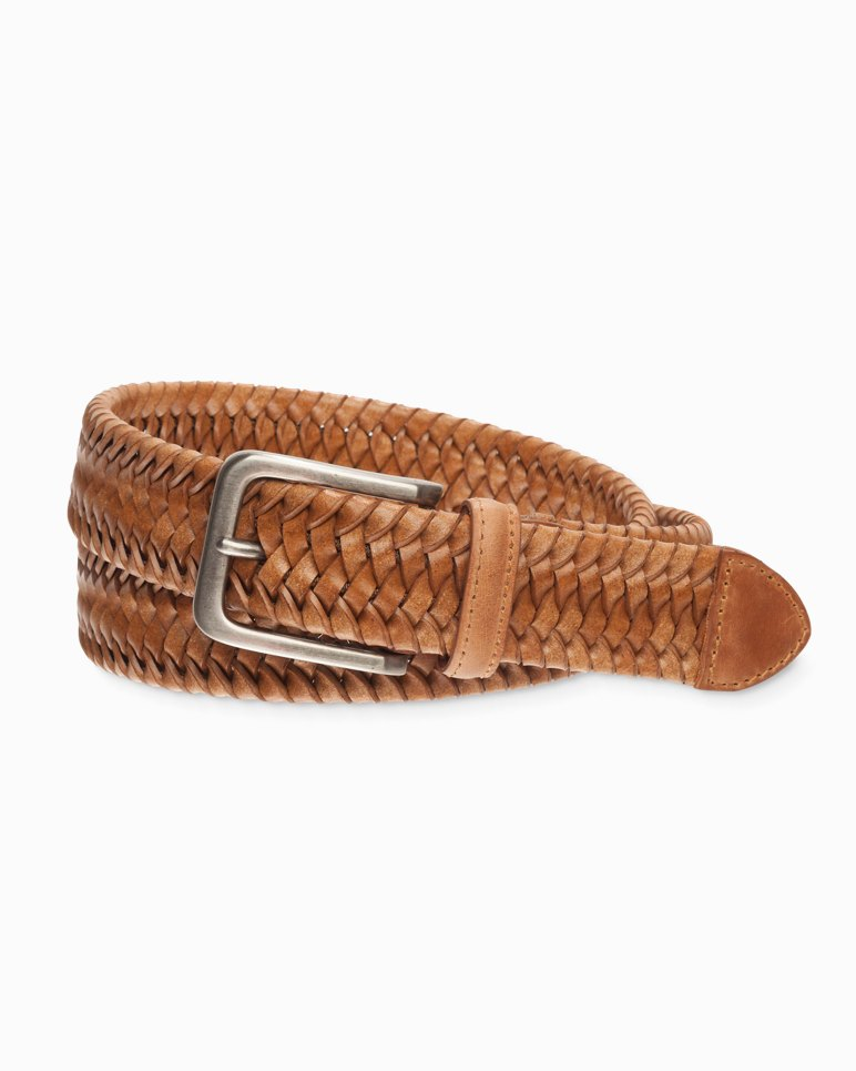 Main Image for Braided Leather Stretch Belt