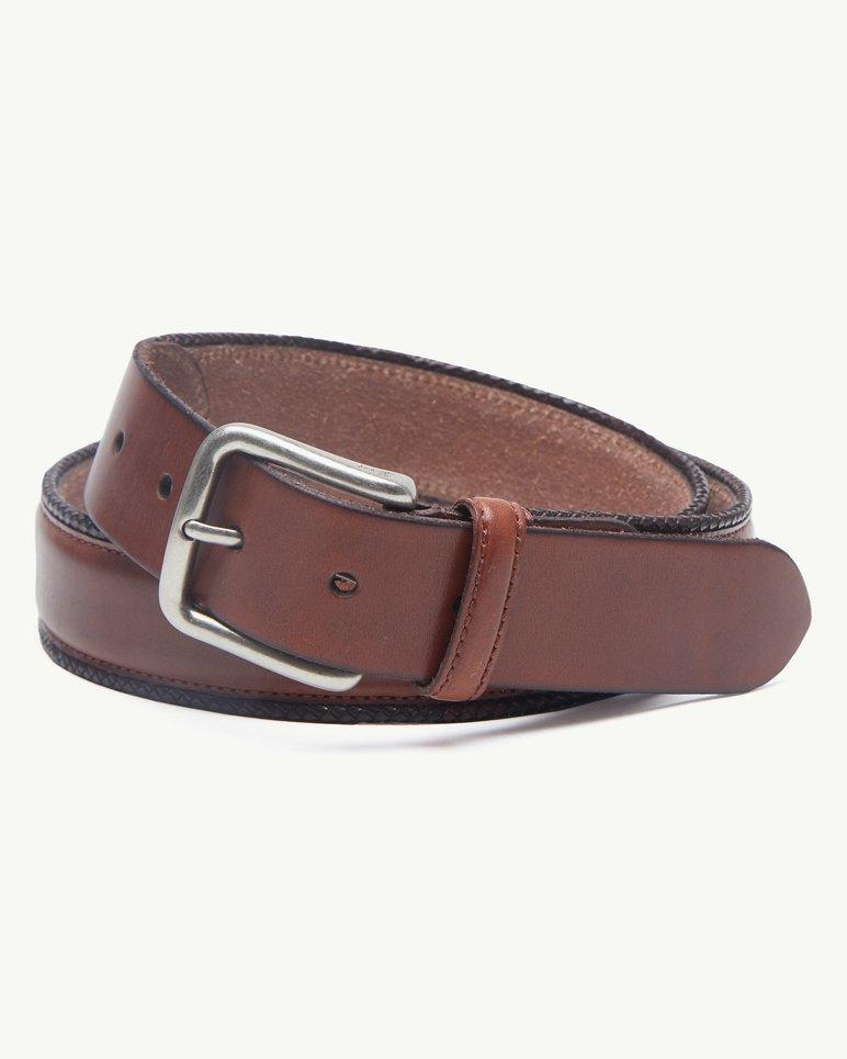 Main Image for Braided Edges Leather Belt