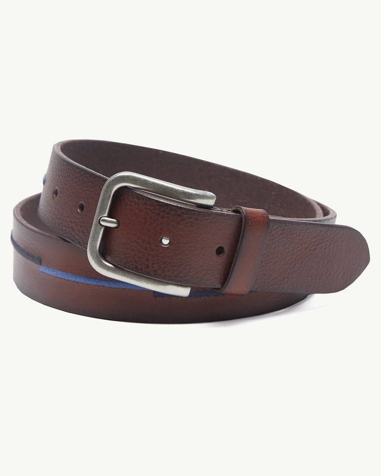 Main Image for Embroidered Scales Leather Belt