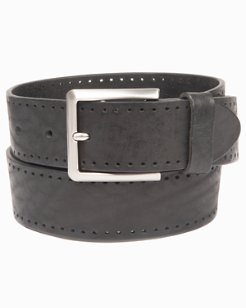 Perforated Edge Belt