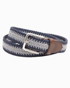 Braided Stretch Webbed Belt