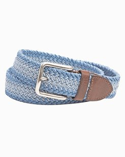 Braided Stretch Webbed Belt