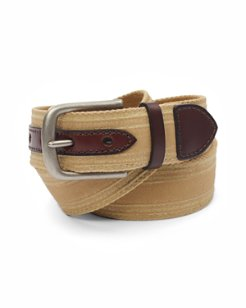 Waxed Canvas Belt