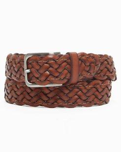 Lazy Stitch Leather Belt