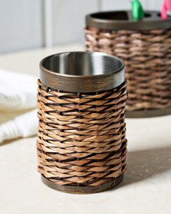 Retreat Wicker Tumbler