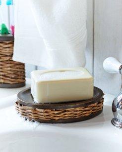Retreat Wicker Soap Dish