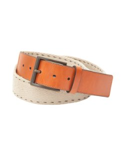 Big & Tall Contrast Stitch Webbed Belt