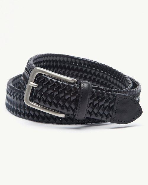 L//XL Tommy Bahama Men/'s Stretch Casual Belt 36-42 KHAKI NWT
