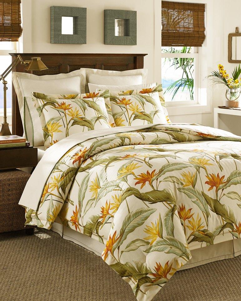 Birds Of Paradise 4-Piece Queen Comforter Set