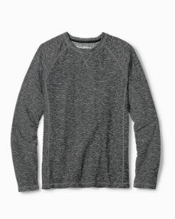 Space Dye Knit Long-Sleeve Shirt