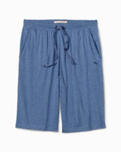 Big & Tall Heathered Jersey-Knit Lounge Shorts