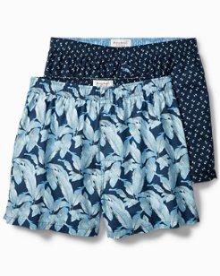 Forever Fronds & Palm 2-Pack Boxer Set