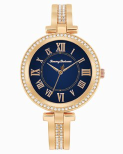 Palm Beach Bangle Watch With Swarovski® Crystals