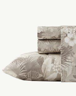 Hibiscus Haven 4 Piece Queen Sheet Set