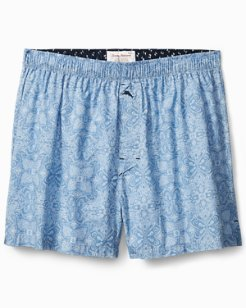 Big & Tall Fading Geo Woven Boxers