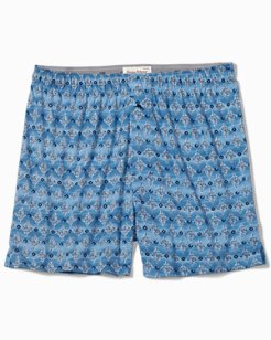 Diamond Waves Knit Boxers