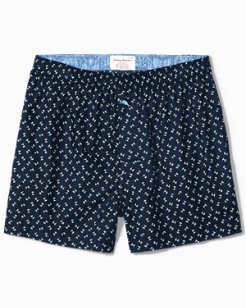 Big & Tall Palm Trees Woven Boxers