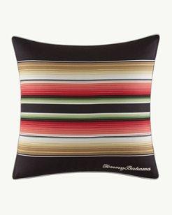 Jungle Drive 18-Inch Stripe Square Pillow