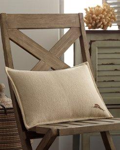 Canvas Stripe 12x16 Woven Pillow