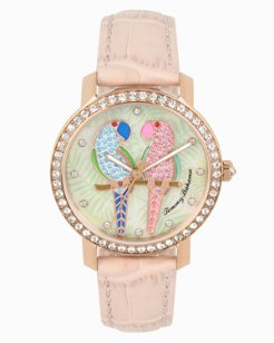 Two Of A Feather Watch With Swarovski® Crystals
