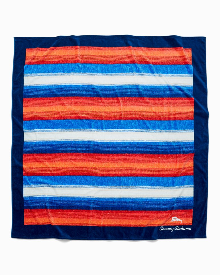 Main Image for Serape Stripe 6X6-Foot Beach Blanket