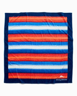 Serape Stripe 6X6-Foot Beach Blanket