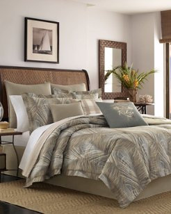 Raffia Palms Queen Comforter Set