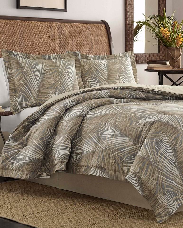 Main Image for Raffia Palms King Duvet & Sham Set