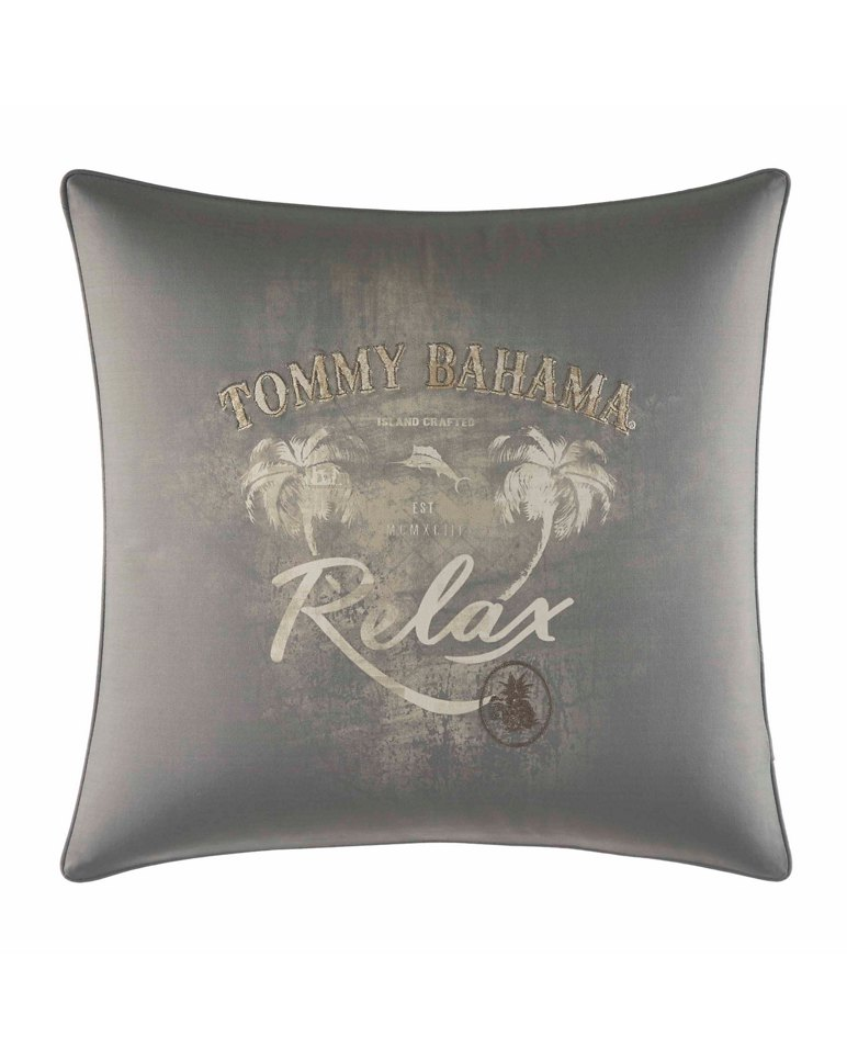 Main Image for Raffia Palms 20-Inch Square Pillow
