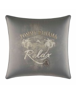 Raffia Palms 20-Inch Square Pillow