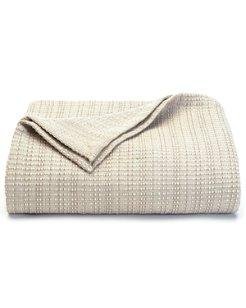 Bamboo Woven Twin Blanket