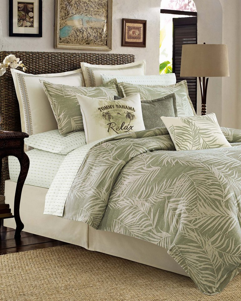 Tommy Bahama Bedding Sets.Palms Away King Comforter Set
