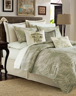 Palms Away King Duvet Cover Set