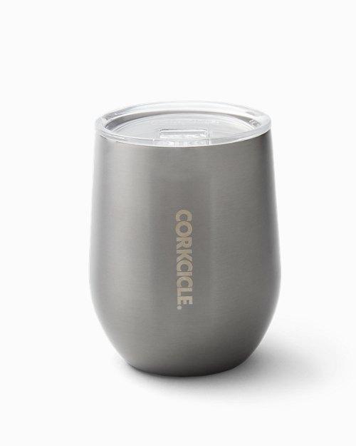 Gunmetal Corkcicle® Stemless Wine Glass, 12 oz.