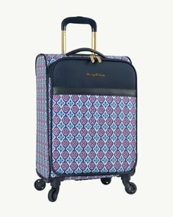 Honolulu 19-Inch Expandable Spinner Carry-On Suitcase
