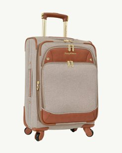 Boracay 21-Inch Expandable Spinner Lurex Carry-On Suitcase