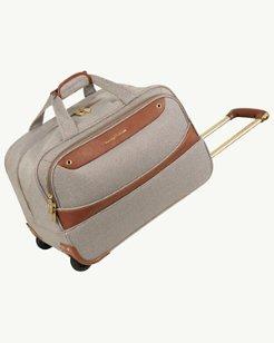 Boracay 20-Inch Wheeled Lurex Duffel Bag