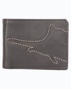 Sustainable Leather Slimfold Wallet