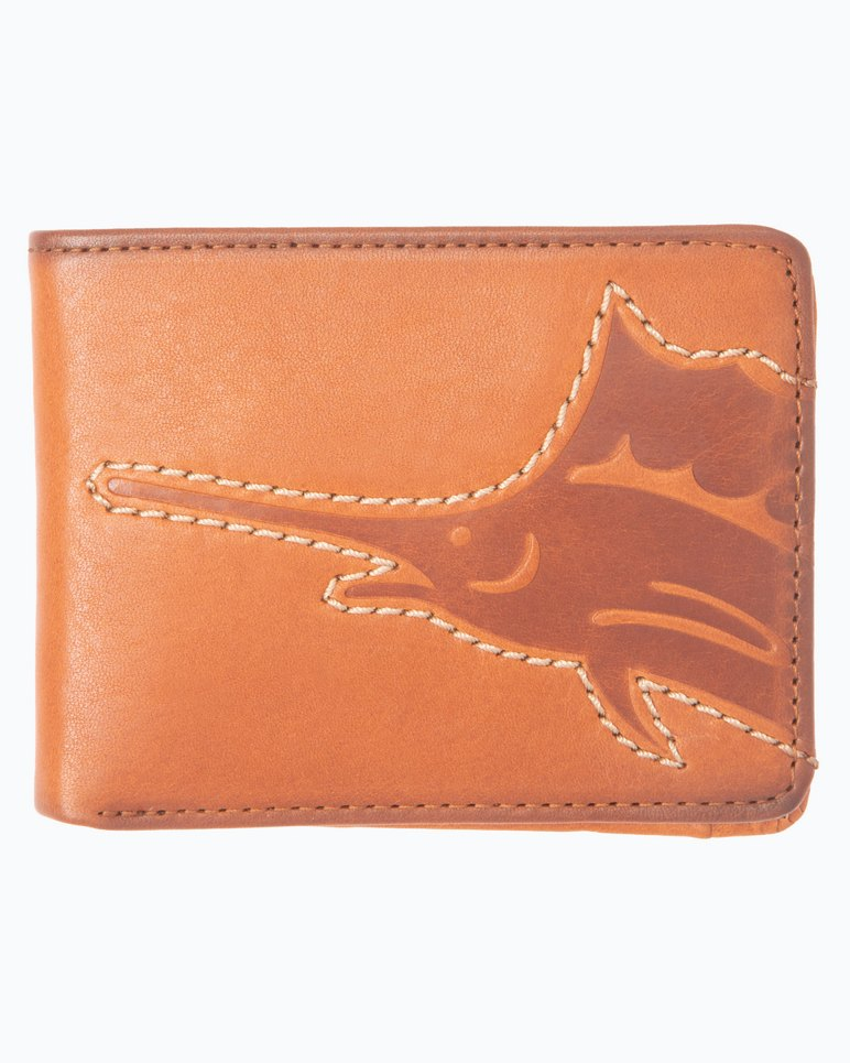 Main Image for Sustainable Leather Slimfold Wallet