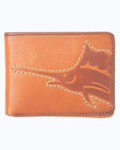 Sustainable Leather Slimfold Wallet