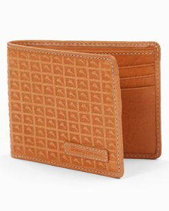 Embossed Marlin Billfold Wallet