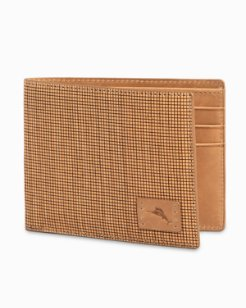 Wood-Sliced Billfold Wallet