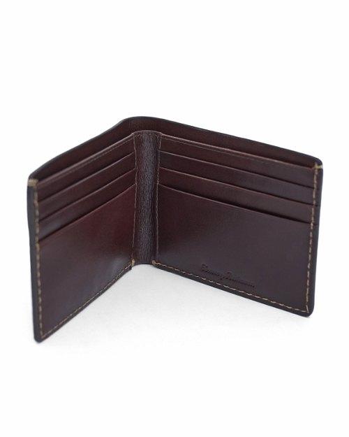 Embossed Design Slimfold Wallet