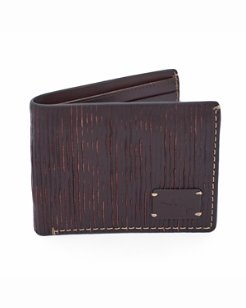 Embossed Design Slimfold Wallet