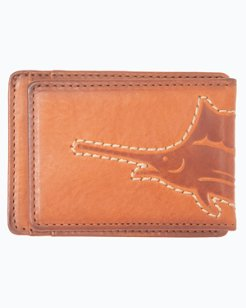 Sustainable Leather Magnetic Front Wallet