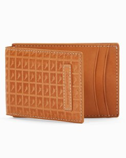 Embossed Marlin Magnetic Wallet