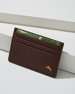 Pop Marlin Leather Card Case