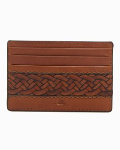 Braided Inlay Card Case